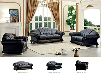 ESF Versa Living Room Set In Black Part 94