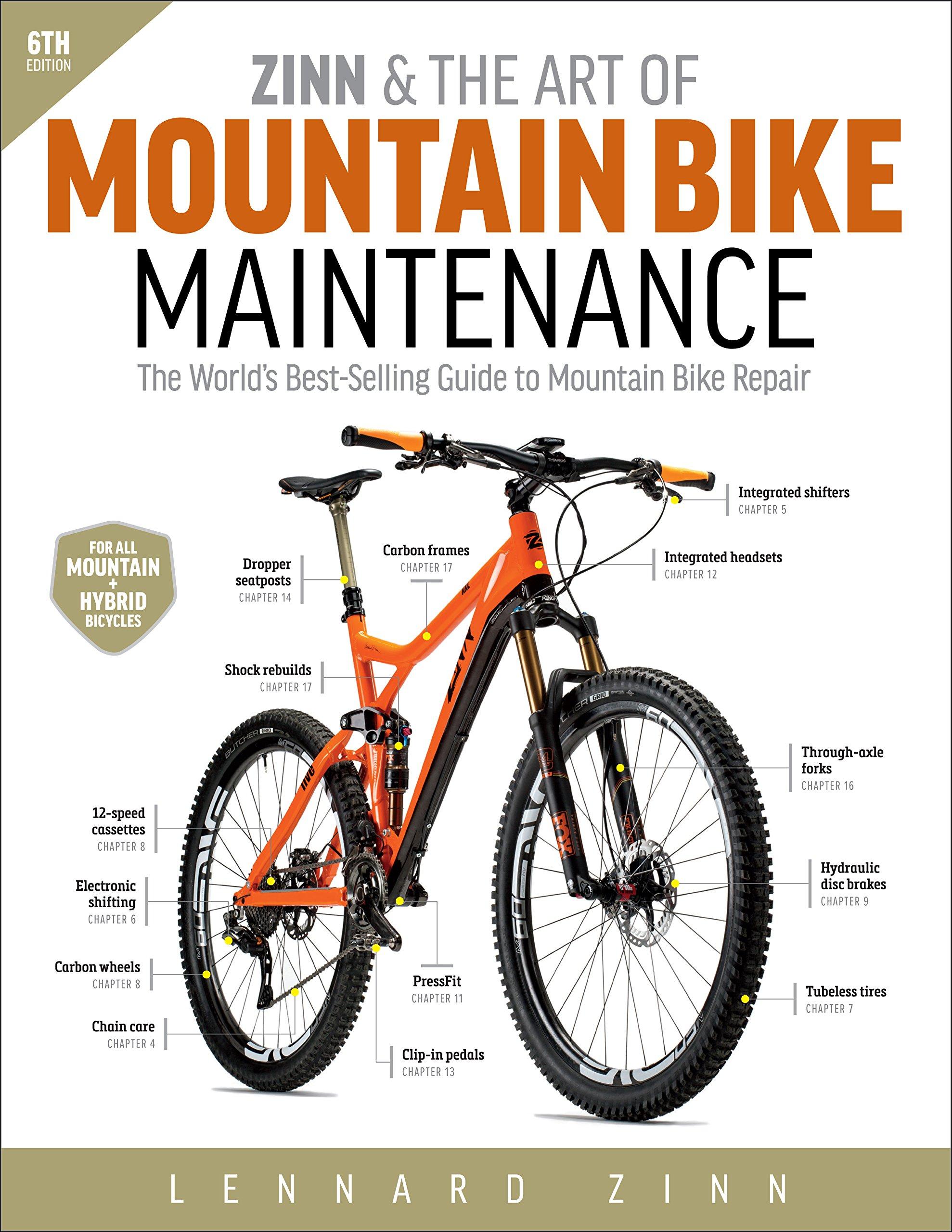 Zinn, L: Zinn & the Art of Mountain Bike Maintenance: Amazon.es ...