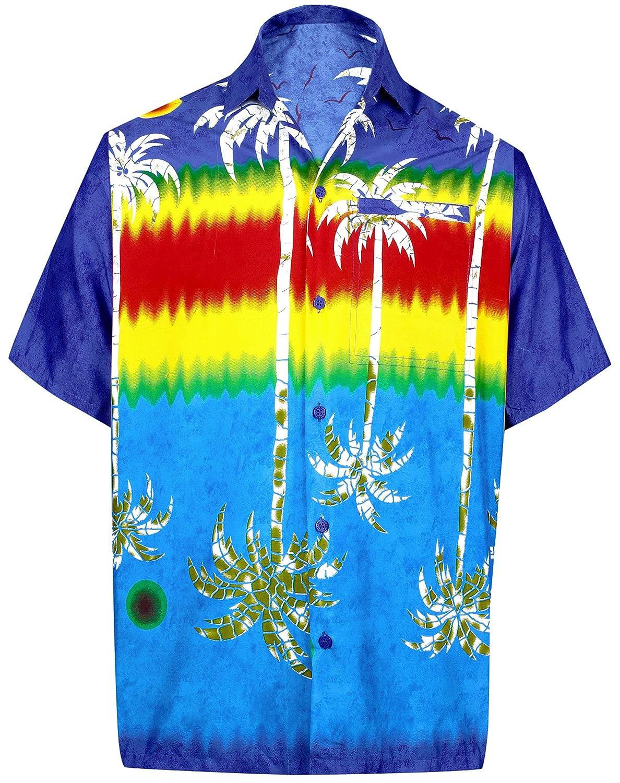 a3f6742a Online Cheap wholesale LA LEELA Beachwear Button Down Hawaiian Shirt Collar  Short Sleeve Front Pocket Aloha Camp Beach Wear Casual Button-Down Shirts  ...