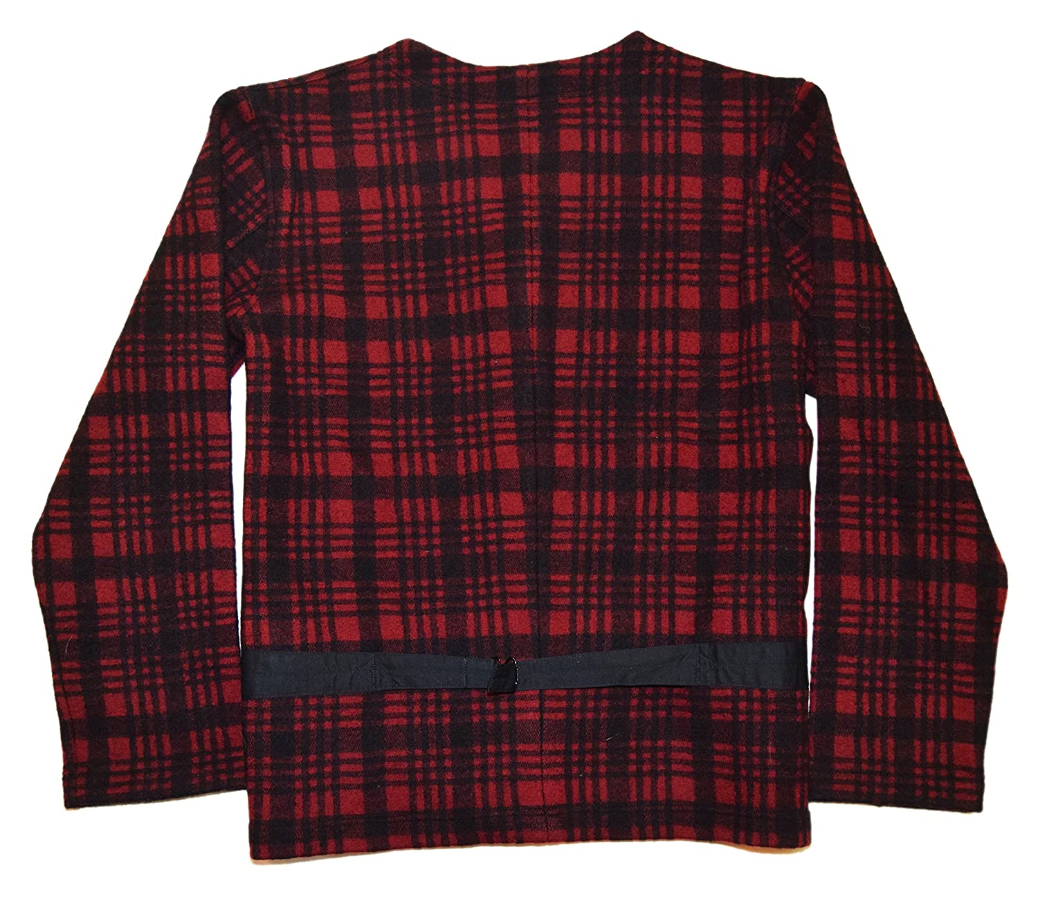 a516985a Ralph Lauren Polo RRL Mens Vintage Buffalo Plaid Wool Sweater Vest Red  Black Large at Amazon Men's Clothing store:
