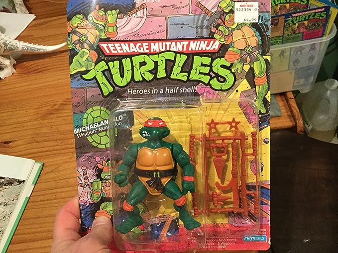 2012 Playmates Toys Teenage Mutant Ninja Turtles TMNT Michelangelo Action Figure
