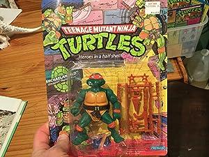 Playmates Teenage Mutant Ninja Turtles 1987 Michelangelo Action Figure