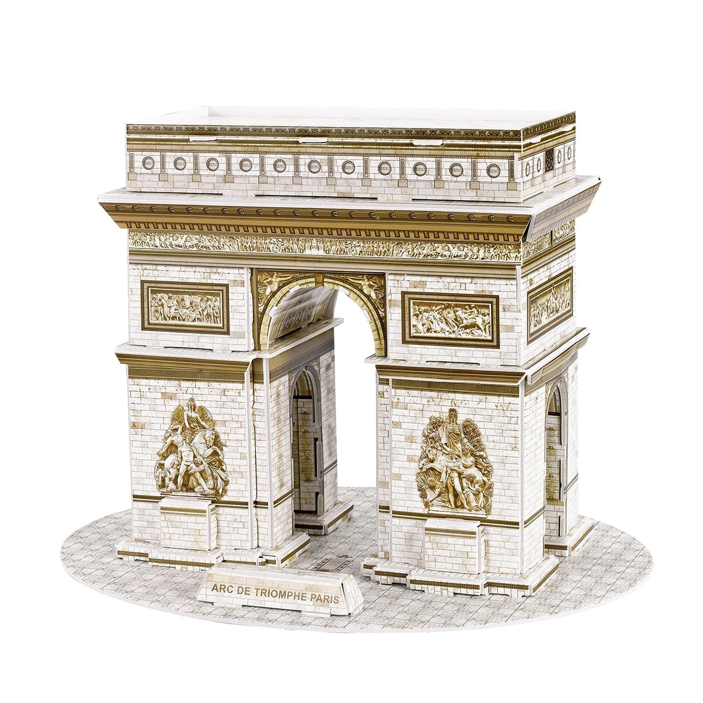 上品なスタイル Arc de Triomphe de Triomphe 3dパズル 3dパズル B077SP1DTB, 埴科郡:7c2811db --- a0267596.xsph.ru