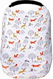 Woodland Nursing Cover for Breastfeeding Scarf - Infant Car Seat Canopy - Stretchy & Multi Use Shopping Cart, Stroller…