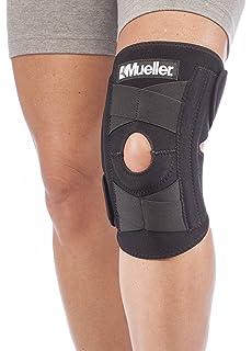 61254ac51c Mueller Sports Medicine Self Adjusting Knee Stabilizer, Black, One Size  Fits Most