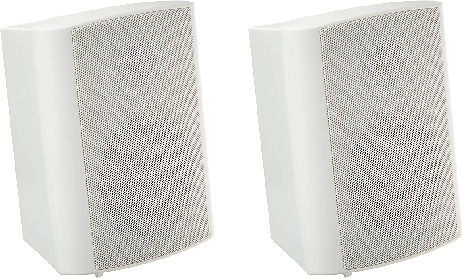 Theater Solutions TS425ODW Indoor or Outdoor Speakers Weatherproof Mountable White Pair