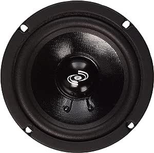 Pyle 5 Inch Woofer Driver - Upgraded 200 Watt Peak High Performance Mid-Bass Mid-Range Car Speaker 450Hz - 7kHz Frequency Response 15 Oz Magnet Structure 8 Ohm w/ 92dB