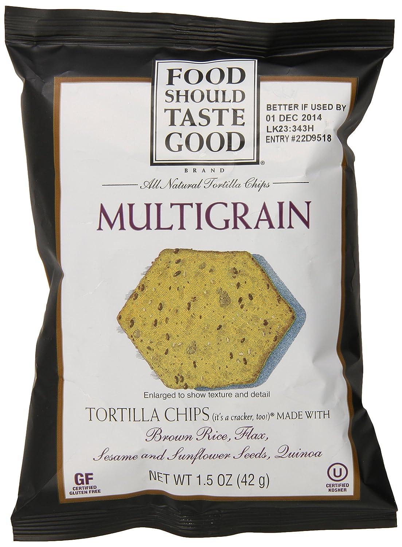 Food Should Taste Good Tortilla Chips, Multigrain