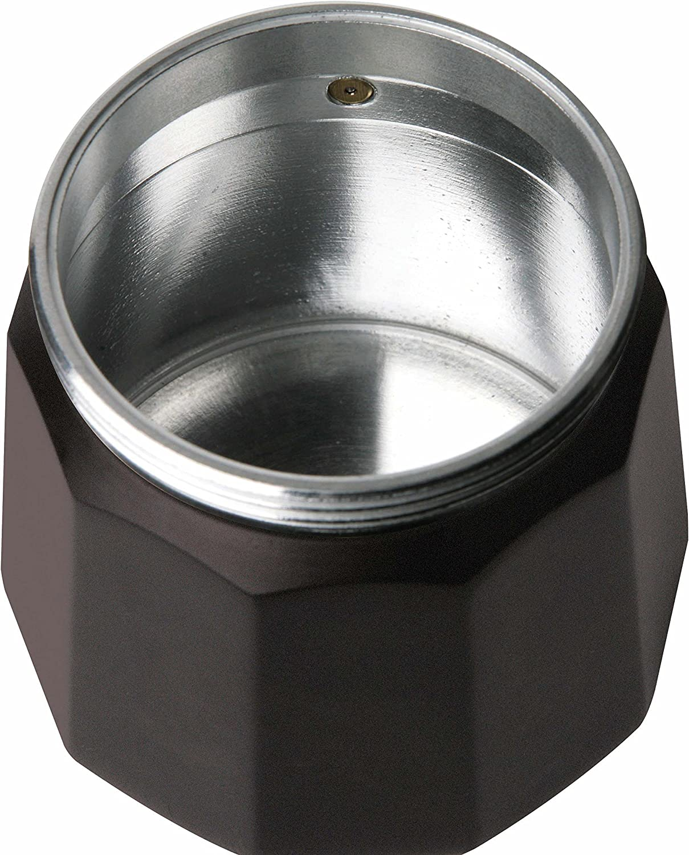 Acero Inoxidable 3 Tazas Taurus Cafetera de Vac/ío Negro