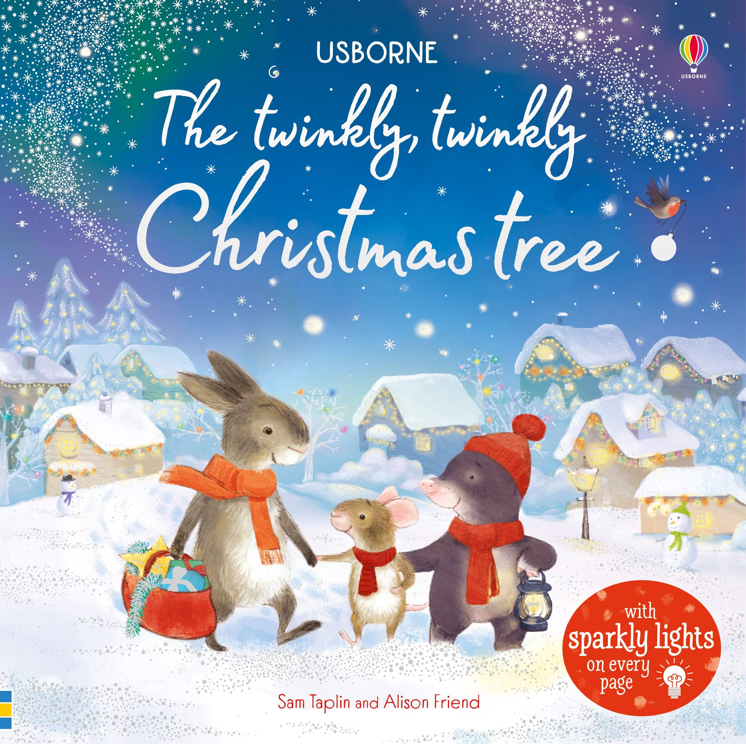 Usborne Christmas 2019 The Twinkly Twinkly Christmas Tree (Usborne Twinkly Books