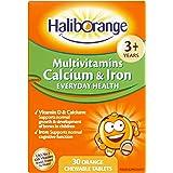 Seven Seas Haliborange Kids Multi-vitaminas calcio y hierro 30 Tabletas