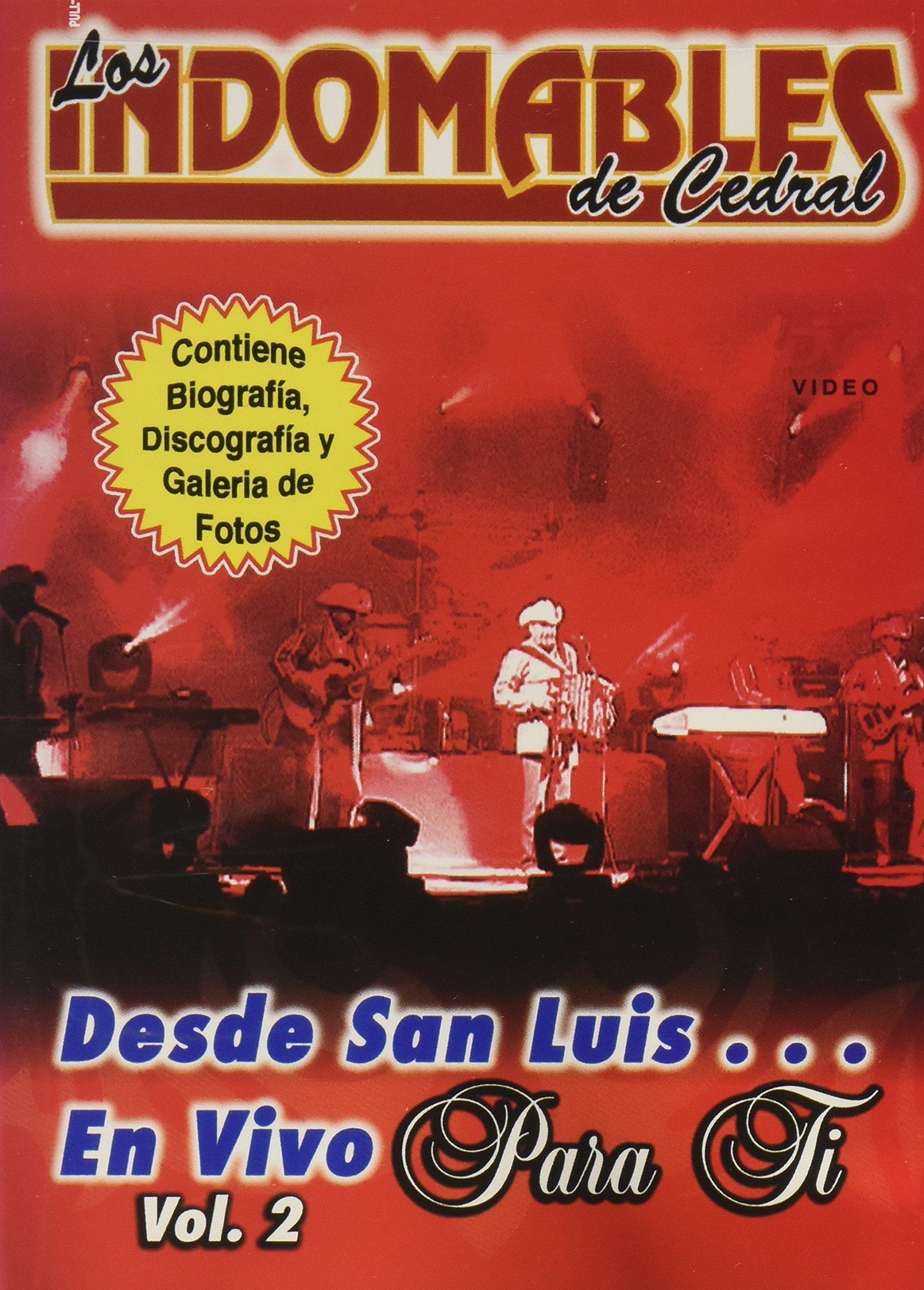 DVD : Los Indomables de Cedral - Desde San Luis En Vivo: Volume 2 (DVD)