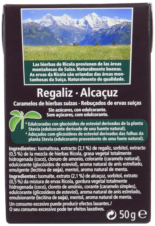 Ricola Caramelos duros dulces - 10 de 50 gr. (Total 500 gr.): Amazon.es: Alimentación y bebidas