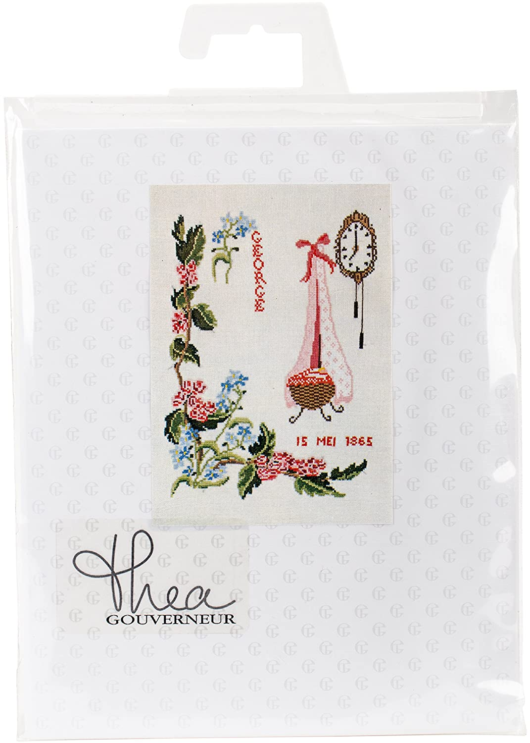 Thea Gouverneur TG865A Cross Stitch Kit 9.5 X13.25 May On Aida (16 Count)