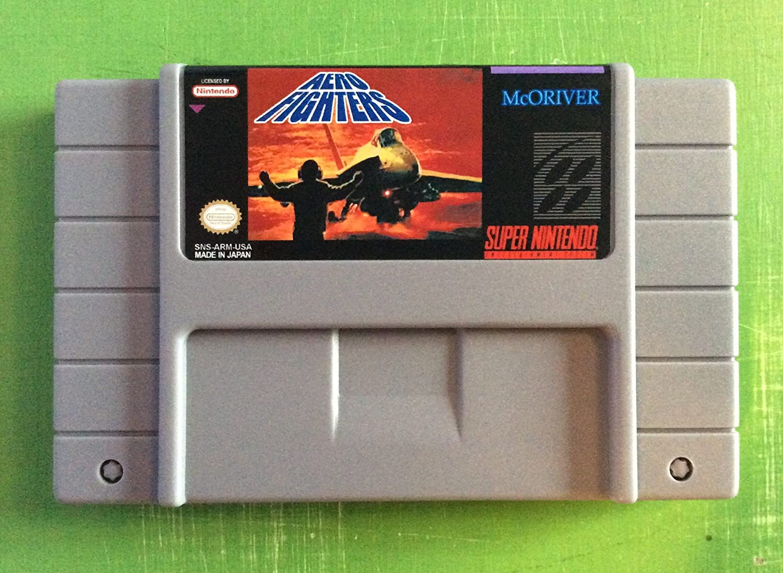 Amazon.com: Aero Fighters - Nintendo Super NES: Video Games