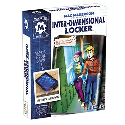 SmartLab Toys Mac Makerson and The Inter-Dimensional Locker: Toys & Games