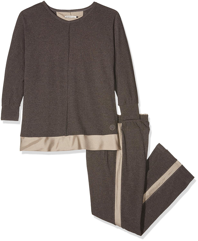 Féraud Damen Zweiteiliger Schlafanzug Hausanzug Comfort Chic 3161291