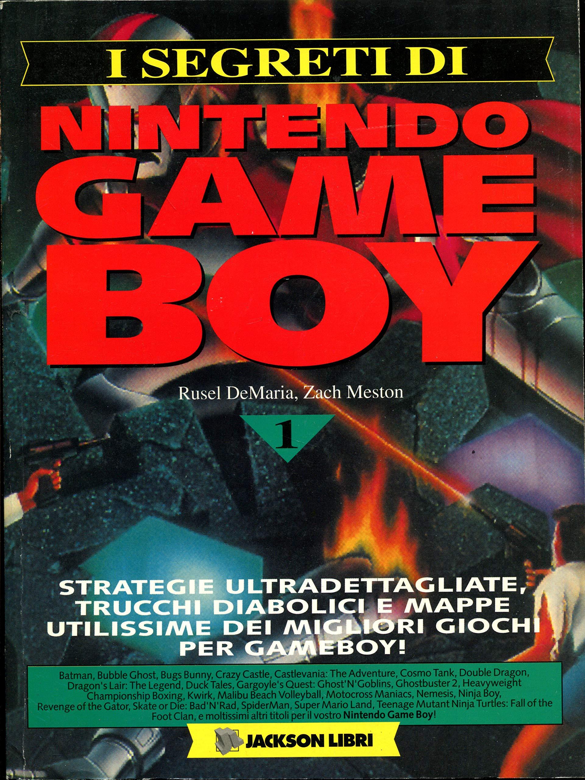 I segreti di Nintendo Game Boy: 1 (Sistemi operativi ...