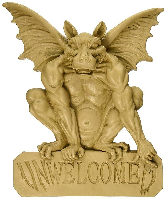 Amazon.com: Design Toscano UNWelcomeD Gargoyle Plaque: Home & Kitchen