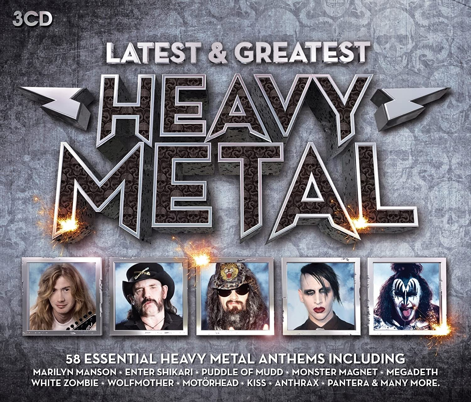 Latest & Greatest Heavy Metal: Various: Amazon.es: Música