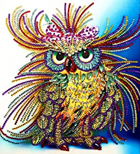 5D Diamond Painting Kit, DIY Diamond Crystal Rhinestone Painting Kits Embroidery Arts Craft for Home Decor, Wall Decor Birthday, Anniversary, Wedding Gift 11.8x11.8 inch(1)
