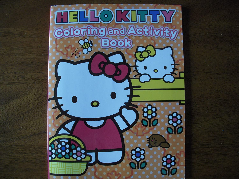 Hello Hello Hello Kitty Farbeing and Activity Book B008RYUYG6 | Sonderangebot  a3f95f