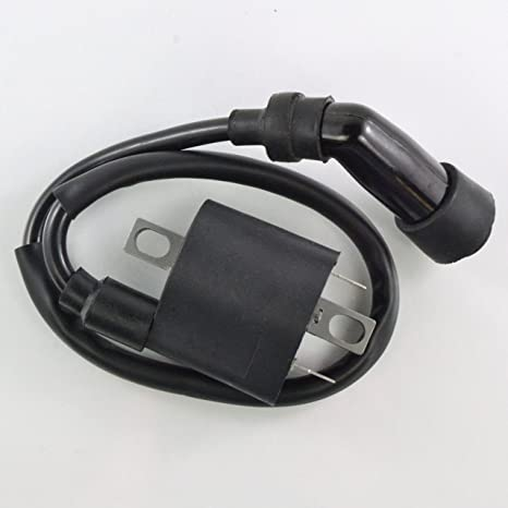 amazon com: external ignition coil with cap for yamaha yxr 700 rhino yxm  700 viking vi suzuki kingquad 400 vstrom 1000 2008-2018: automotive