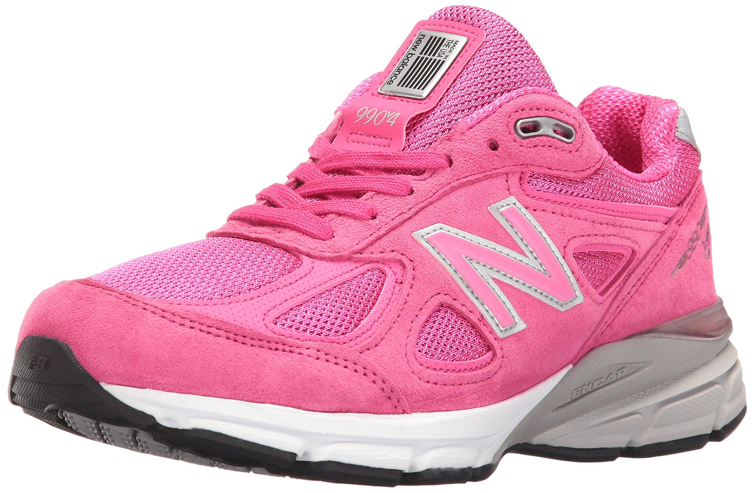 New Balance Women's W990V4 Running Shoes,Komen Pink,5 B US