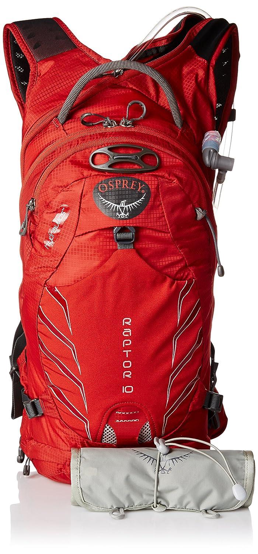 Mochila de hidratación OSPREY RAPTOR 10 Color Rojo: Amazon.es: Deportes y aire libre