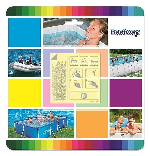 Kit de Reparación Bestway Parche Adhesivo Bajo el Agua