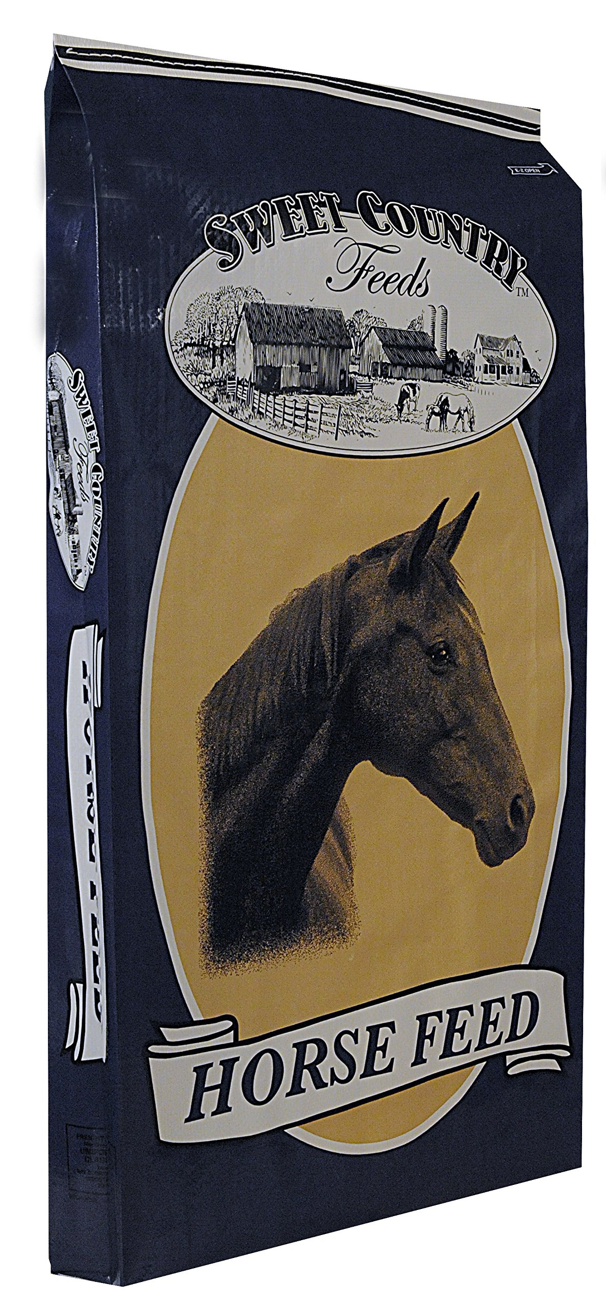 Kalmbach Feeds Sweet Country Plain 12 Pellet Horse Feed for Horse, 50 lb