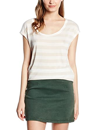 bffee3c9d65334 edc by ESPRIT Damen T-Shirt gestreift