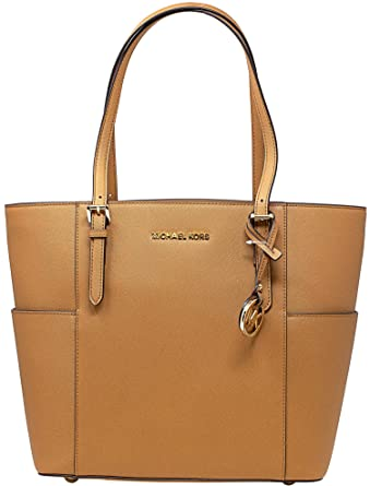 a5616fe212ab Amazon.com: Michael Kors Jet Set Large Tote (Acorn): Michael Kors: Shoes