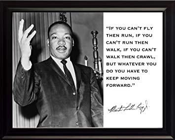 Amazon Com Martin Luther King Jr Mlk If You Can T Fly Then Run