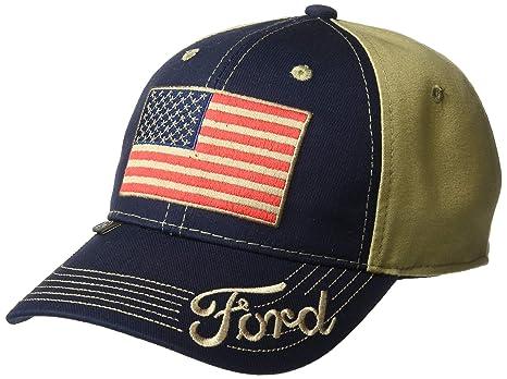 Gorra con bandera americana, unisex, color azul marino y caqui ...