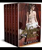 Submitting to the Baron, Parts I-V Boxset: A Romantic Historical Erotica (Chateau Debauchery) (English Edition)