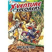X-Venture Xplorers #1: The Kingdom of Animals--Lion vs Tiger