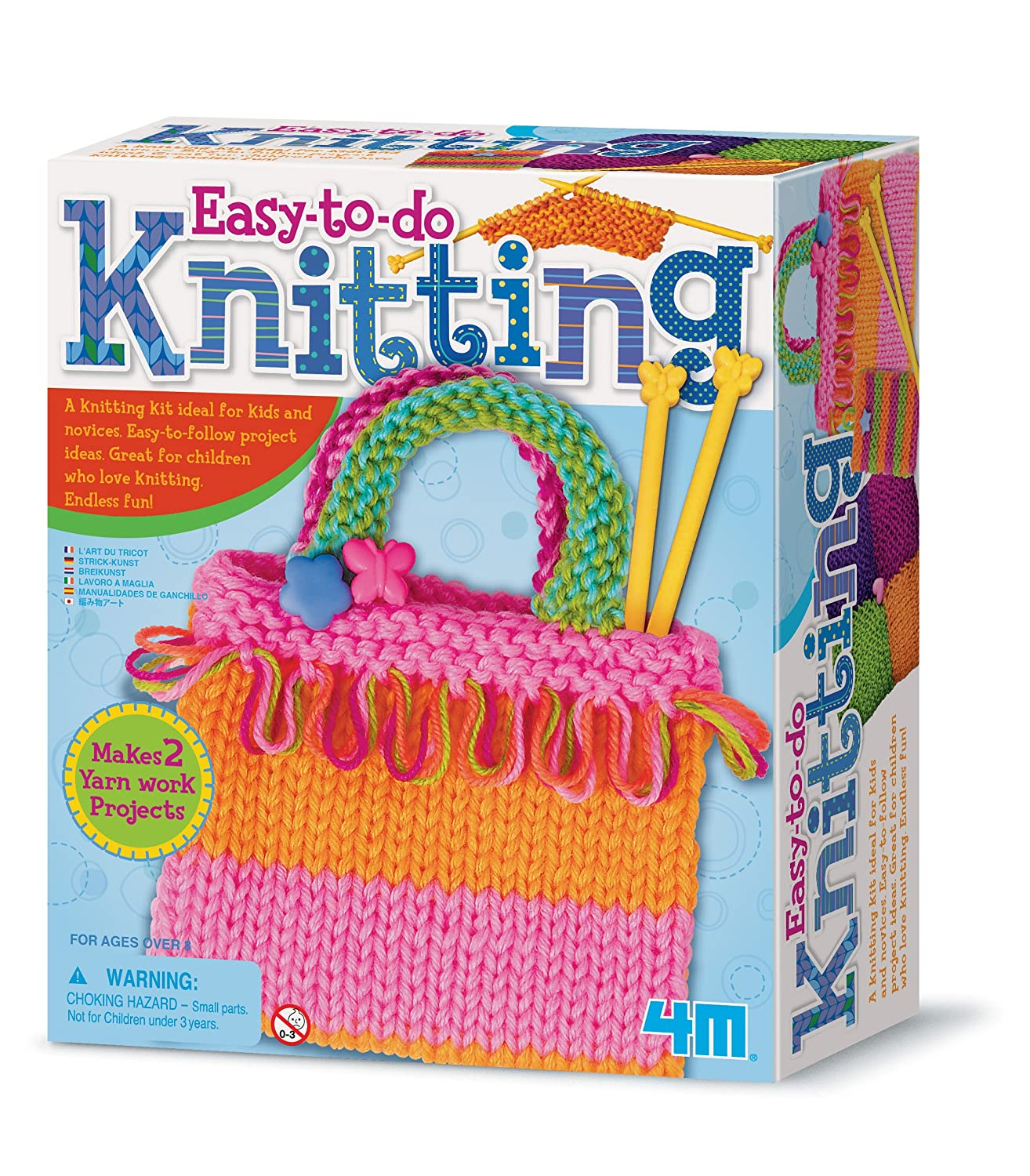 4M Knitting Art Kit 3593