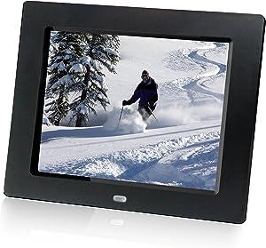 HP df810v1 8-Inch Digital Picture Frame (Contemporary Black)
