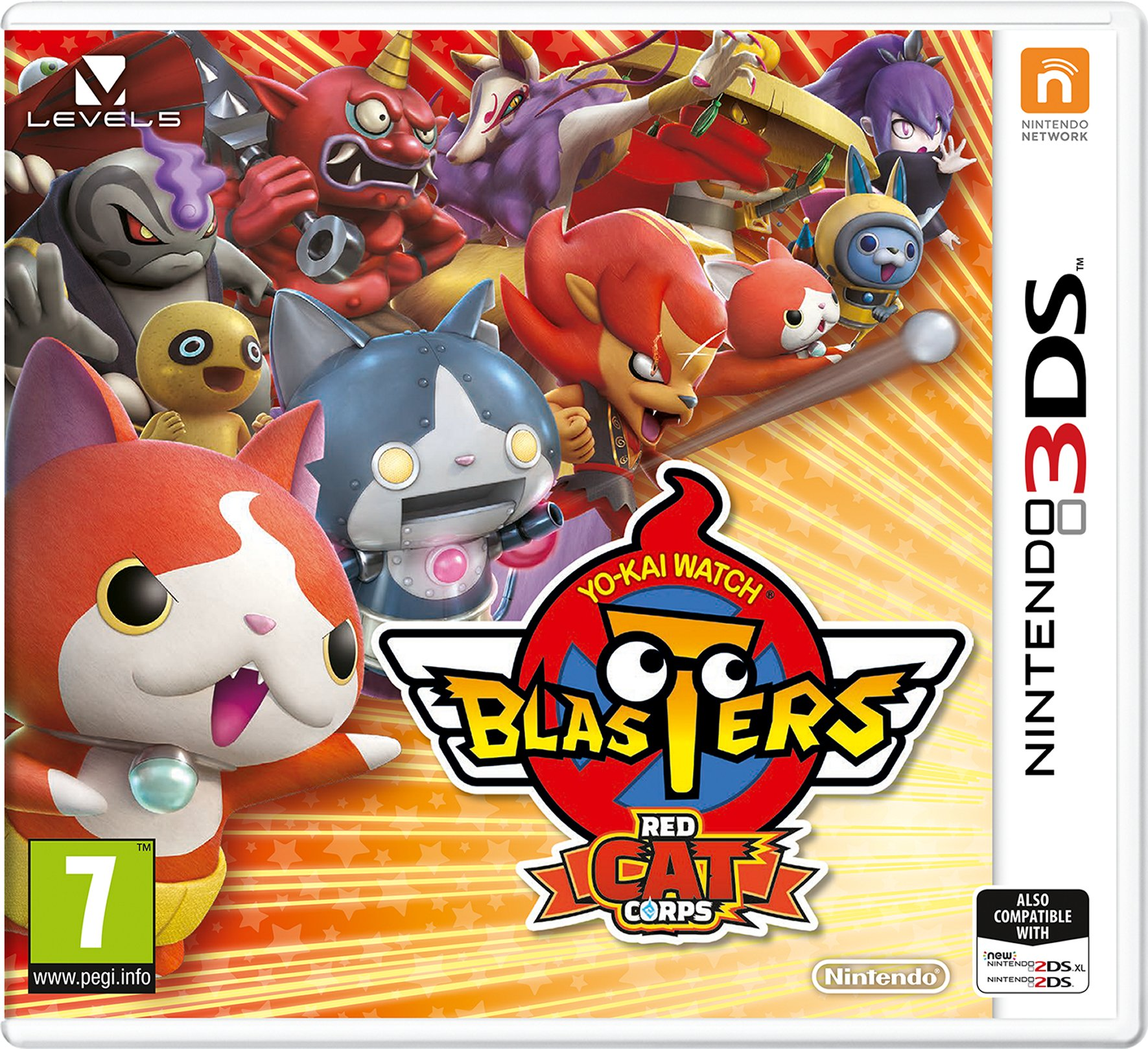 YO-KAI Watch Blasters Red Cat Corps (Nintendo 3DS)