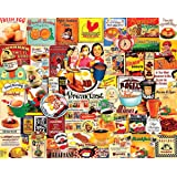 White Mountain Puzzles Breakfast - 1000 Piece Jigsaw Puzzle