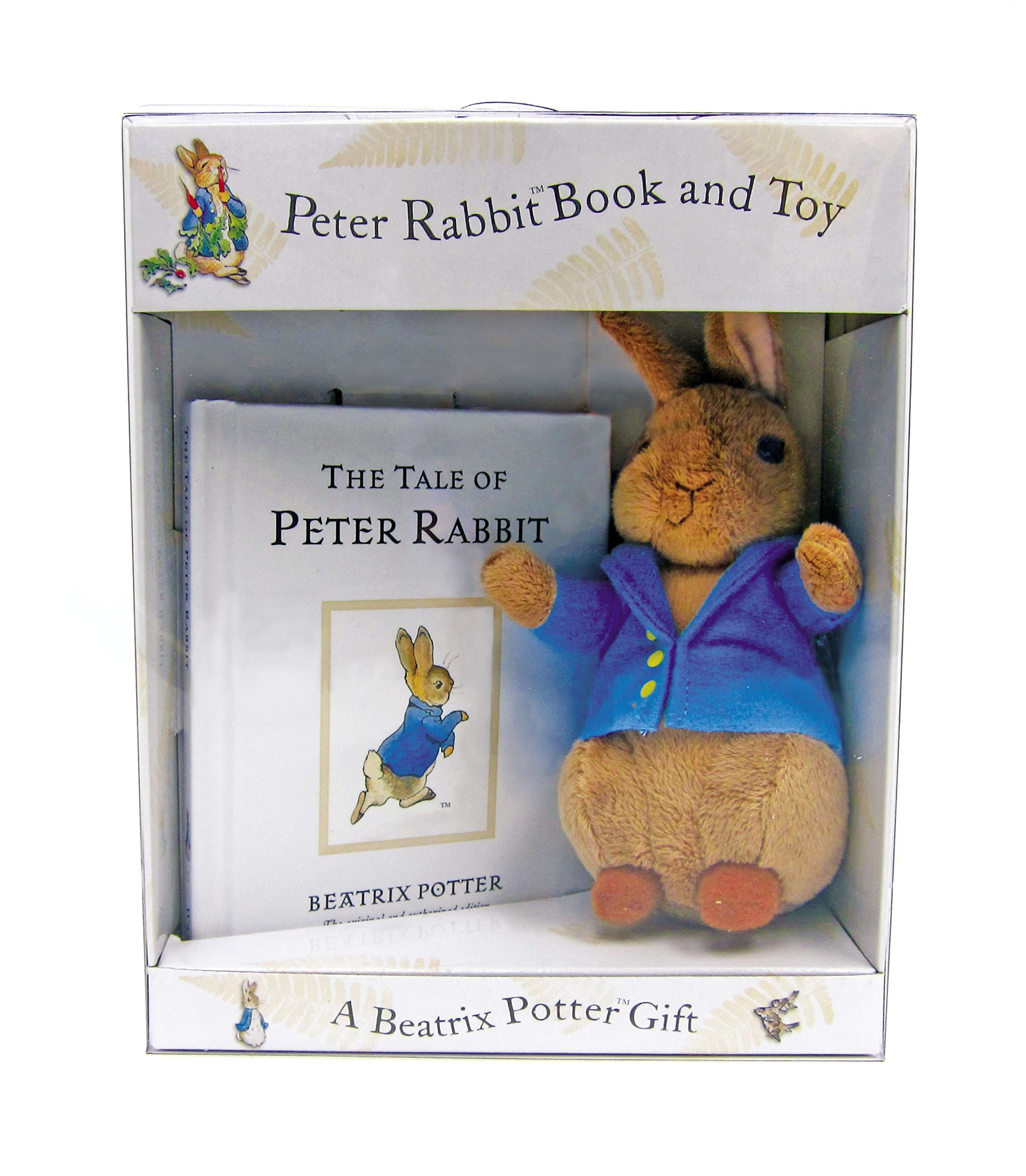 Peter Rabbit Book and Toy ONLY...