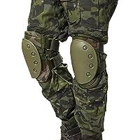 Airsoft táctico ajustable de la rodilla del codo