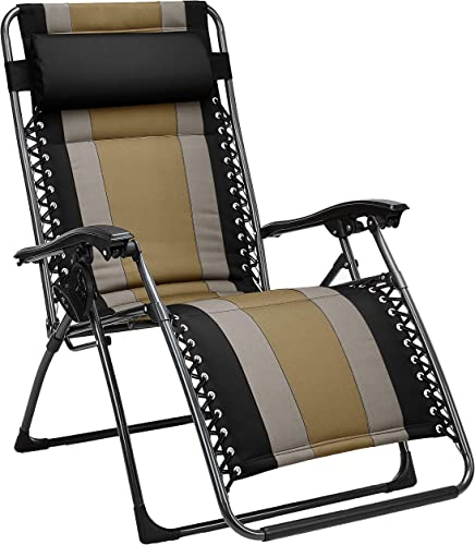 Padded Zero Gravity Chair- Black