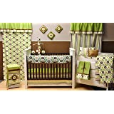 Amazon Com Trend Lab Dr Seuss 4 Piece Crib Bedding Set