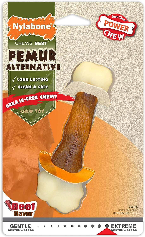 Nylabone Hueso de nylon durable resistente Dental Extreme Animal alternativa Dog Chew Toy