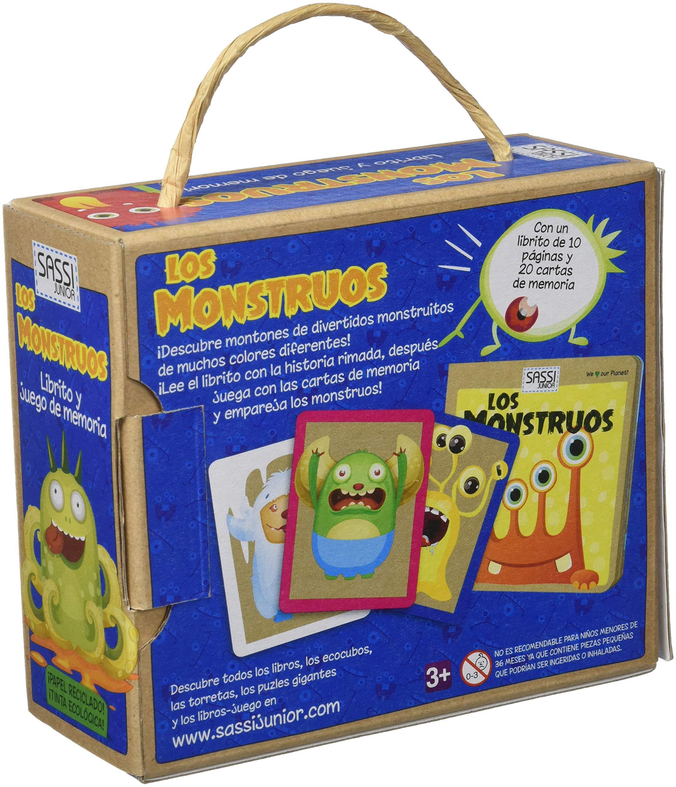 Monstruos librito y juego de la memoria, los: AA.VV ...