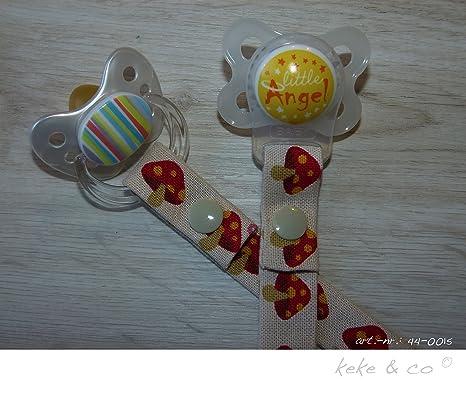 keke & Co Seta Chupete banda Adecuado para todos los tipos de ...