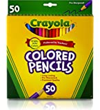 Crayola Colored Pencils, Art Tools, Perfect for Art Projects and Adult Coloring