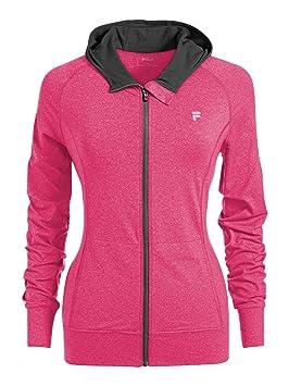 Fila Chaqueta Mujer Rosa, todo el año, mujer, color rosa, tamaño XS: Amazon.es: Deportes y aire libre
